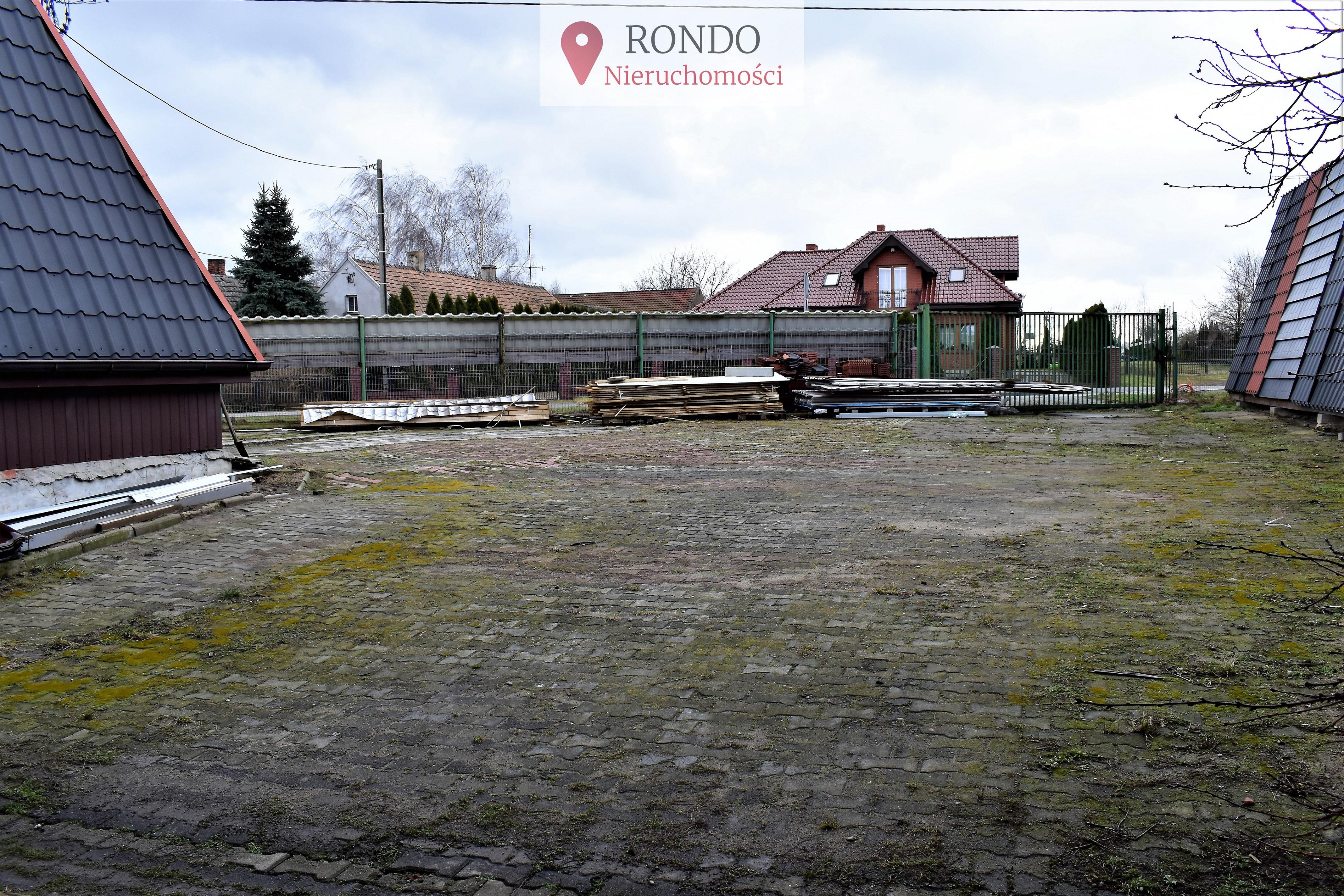 Nieruchomość gruntowa z budynkiem handlowo usługowym Ostrów Wielkopolski