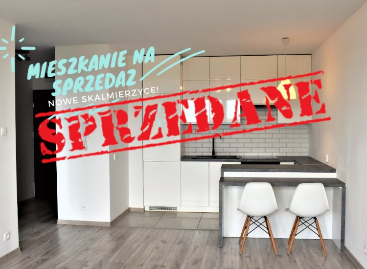 Na sprzedaż nowoczesne 2 pokojowe mieszkanie ! Nowe Skalmierzyce
